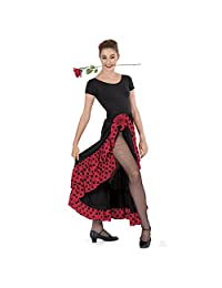 Eurotard Child Polka Dot Flamenco Skirt (08804C)