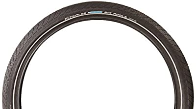 Schwalbe Big Apple HS 430 Fatty Bicycle Tire (26x2.35, Allround Wire Beaded, Reflex)