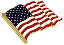 American Flag Lapel Pin Proudly Made in USA