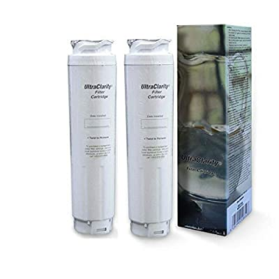 2-PACK Genuine Bosch Ultra Clarity 9000194412 Refrigerator Water Filter Sealed
