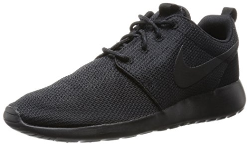 Nike Rosche Run Damen Sneakers, Negro (Black / Black-Anthracite), 37.5 EU