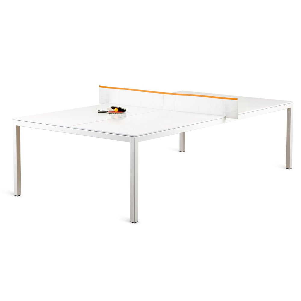 Poppin Modern Ping-pong Conference Table, Regulation Size