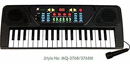 Buy Melody Mixing Piano Organ with Microphone Mic