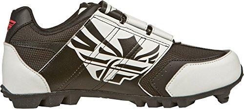 Fly Racing Mountainbike Schuhe Talon II schwarz-weiß 47