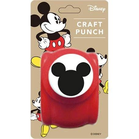 Craft Paper Punch of Mickey Mouse Logo (Japan Import)