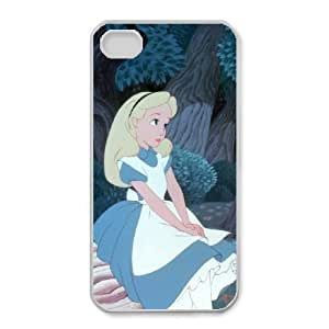 iphone4 4s phone cases White Alice cell phone cases Beautiful gifts YWLS0468250