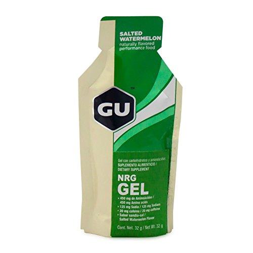 GU Energy Gel Salted Watermelon, Single 1.1 oz. Packet
