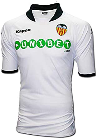 Kappa Valencia C.F. - Camiseta de fútbol, Color Blanco, 2009-10, XXL: Amazon.es: Ropa y accesorios