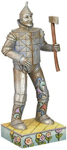 Enesco Enesco Jim Shore Wizard of Oz TIN MAN Figurine, 8.25-Inch (Oz Tin Wizard Heart Man Of)