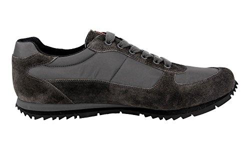 Prada Heren 4e2721 Oqt F0207 Lederen Sneaker
