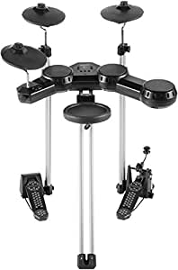 simmons sd100kit compact 5 piece electronic drum set musical instruments. Black Bedroom Furniture Sets. Home Design Ideas