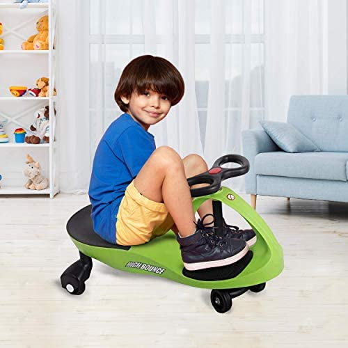 High Bounce Wiggle Cars for Kids Indoors and Outdoors, Moves with Wiggle Movements, Easy Assembly, Durable Construction, Quality Wheels for Smooth Riding. Perfect for Toddlers, Kids, and Adults