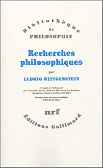 Recherches philosophiques par Wittgenstein