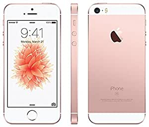 Apple iPhone SE 16GB T-Mobile, Locked to T-Mobile (Rose Gold) (Certified Refurbished)