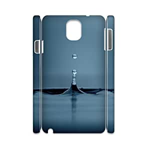 Samsung Galaxy Note 3 Case, water drop 10 3D Case for Samsung Galaxy Note 3 White