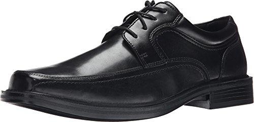 Dockers Men's Manvel Moc Toe Oxford Black Polished Full Grain 14 EE US EE - Wide