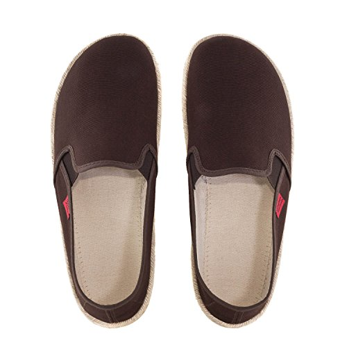 donna Toile Andres Machado Marron Pantofole xvTaqvBF