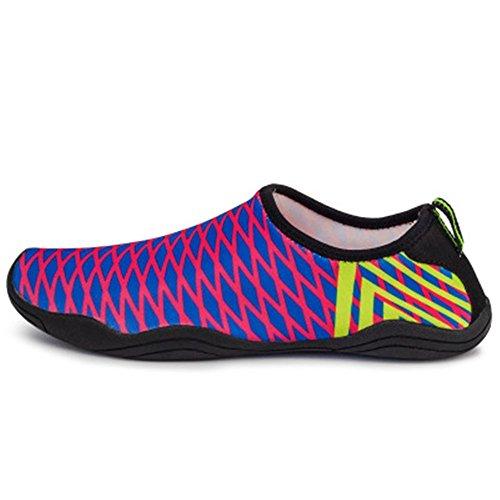 Cloudless Water Shoes Aqua Socks Water Socks Swim Shoes for Kids(Purple 33/1.5 M US Little Kid)
