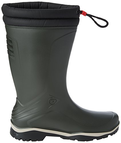 Dunlop Adult Blizzard Wellies - Black Green oOBf8Uv