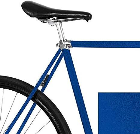 mooxi de Bike Bicicleta de Pantalla Metallic Noche Azul para el Marco de tu fahrrads: Amazon.es: Deportes y aire libre