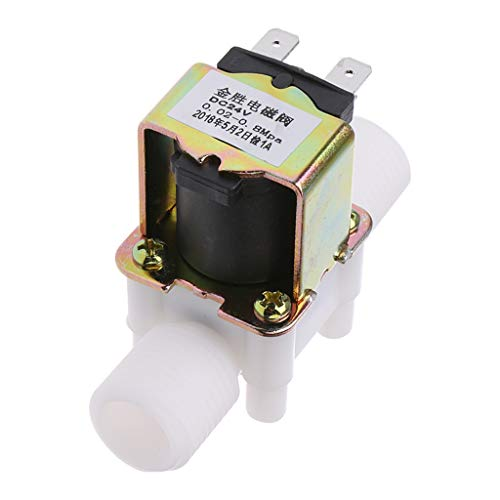 HEIYAO Electric Solenoid Valve Magnetic N/C Water Air Inlet Flow Switch 1/2