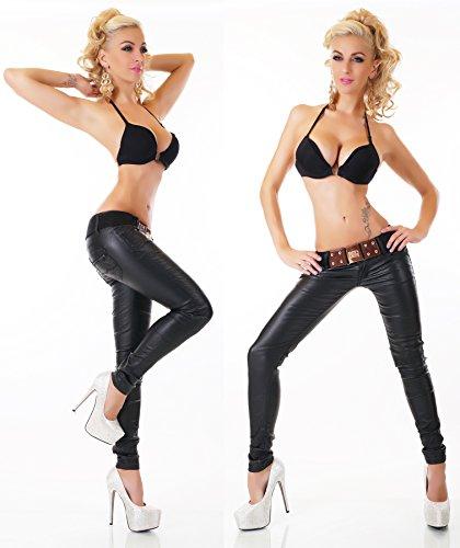 RED SEVENTY - Jeans - Uni - Femme noir noir