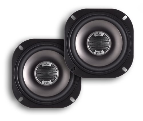 Polk Audio DB501 5-Inch Coaxial Speakers (Pair, Black) by Polk Audio