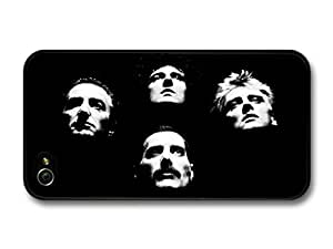Queen Band Heads Freddie Mercury case for iPhone 4 4S A1896