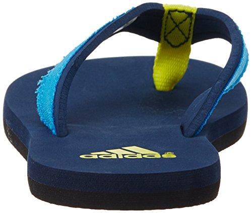 adidas Unisex Baby Beach Thong K Zehentrenner, Bunt, 29 EU Blau / Gelb (Maruni / Azusol / Amabri)