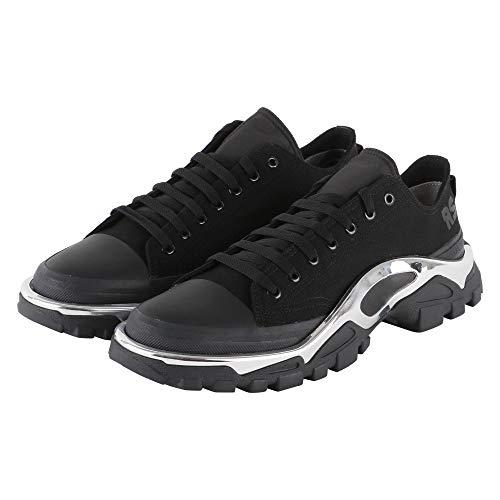 adidas by RAF Simons Men's Sneaker by RAF Simons Detroit Runner in Tela Nera 6,5(UK)-7(US) Black