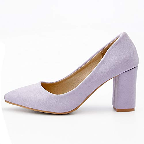 Doux Bureau Heels violet Basic Femmes Escarpins 1 Shoes Melady 1YFqB5Inx