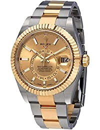 Oyster Perpetual Sky-Dweller Champagne Dial Automatic Mens Watch 326933CSO