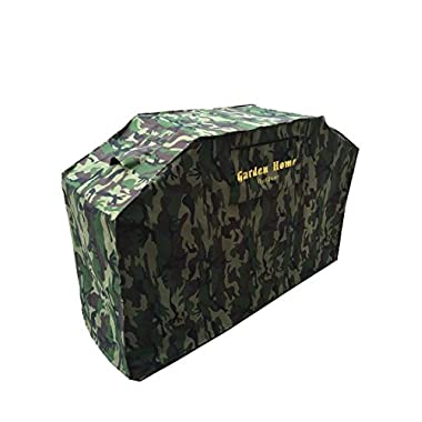 Garden Home Outdoor Heavy Duty Grill Cover, 68 , Camo