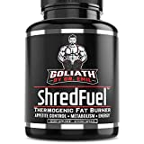 Goliath by Dr. Emil ShredFuel Thermogenic Fat Burner for Men & Women