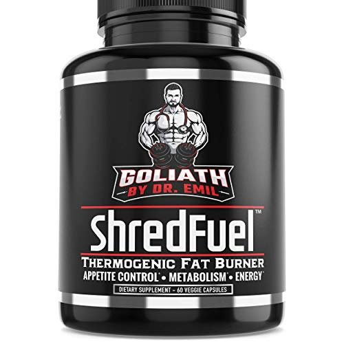 Dr. Emil - Thermogenic Fat Burner for Men & Women - High Dose Weight Loss Pills, Metabolism Booster & Appetite Suppressant (60 Vegan Diet Pills) ()