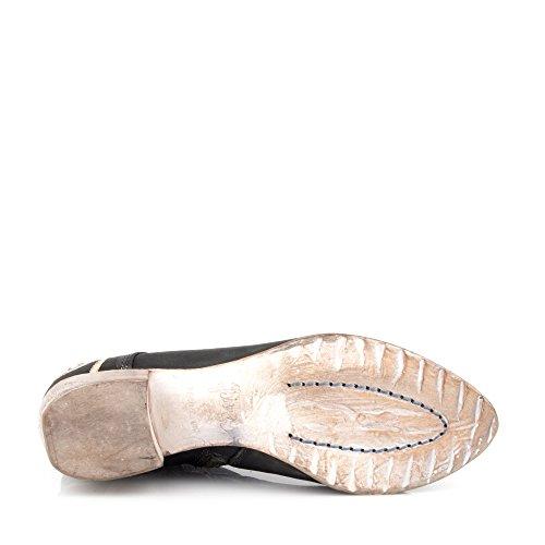 Felmini - Zapatos para Mujer - Enamorarse con Regina P416 - Botines Cowboy & Biker - Genuine Cuero - Negro - 0 EU Size
