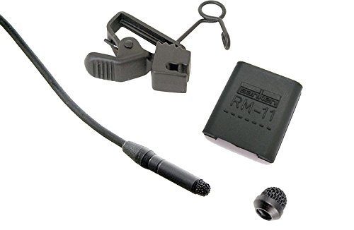Sanken COS-11D Lavalier Microphone w/ TA5f Connector for Lectrosonics Wireless Systems (SM-Series/L-Series/UM400a), Black