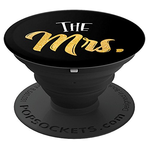 Mr and Mrs Phone Case Stand - The Mrs. - PopSockets Grip and Stand for Phones and Tablets