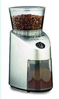 Capresso 560.04 Infinity Conical Burr Grinder, Brushed Silver (B001QTVXCS) | Amazon price tracker / tracking, Amazon price history charts, Amazon price watches, Amazon price drop alerts