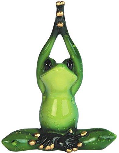 George S. Chen Las importaciones Verde Rana Yoga Figuras ...