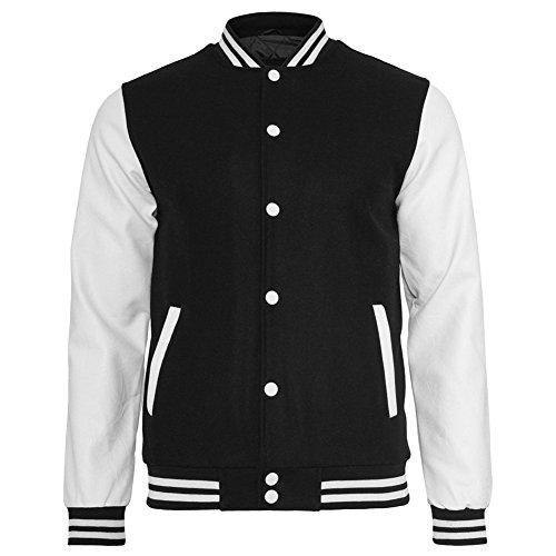 Classics Urban para College Oldschool hombre Chaqueta técnica Negro Bekleidung blanco Jacket dUUP1H