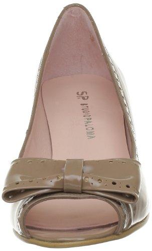 Studio Paloma - Chaussures À Talons Hauts, Femme, Marron (marron (charol 6363)), 38