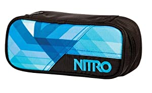 Nitro Snowboards Federmäppchen Pencil Case, Geo Ocean, 20  x 8  x 6 cm, 0.96...