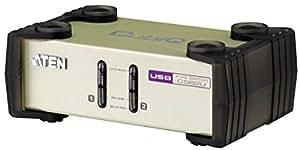 Aten CS82U-AT - Conmutador KVM (2 puertos PS2/USB)