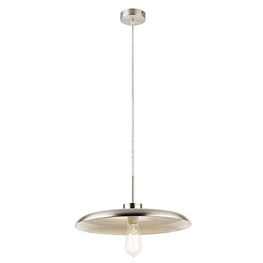 Globo Darenu - Lámpara de techo (níquel mate): Amazon.es ...