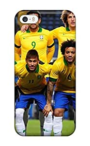 Case For Iphone 4/4S Cover - Retailer Packaging Brazil Team World Cup 2014 Protective Case(3D PC Soft Case)