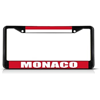Amazon.com: License Plate Frame RWANDA FLAG Aluminum Metal ...