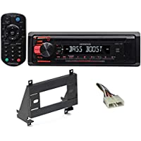 1993-1997 GEO Prizm Kenwood CD Player Receiver w/Aux/Mp3/WMA, 3-Band Eq+Remote