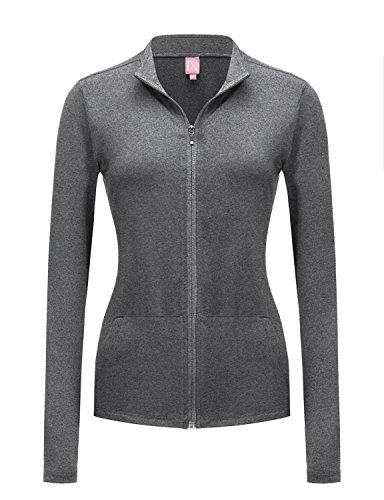 REGNA X NO BOTHER Women's Full Zip Slim Sport Stretchable Workout Track - Track Order Out X