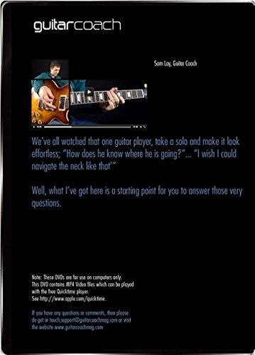 Learn Guitar Soloing improvisar: crear y único Guitar Solos - incluye 46 paso por paso de lecciones en video - Blues, país & Rock Backing Tracks y Full Tab: ...